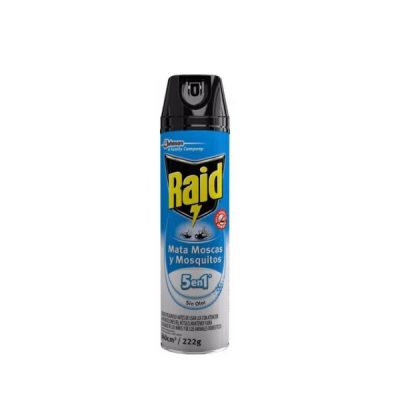 RAID Mata Moscas Y Mosquitos Sin Olor