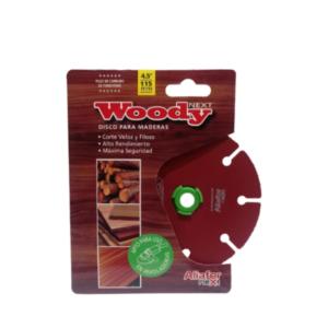 Disco De Carbono Tungsteno para madera Woody ALIAFOR DM-4.5