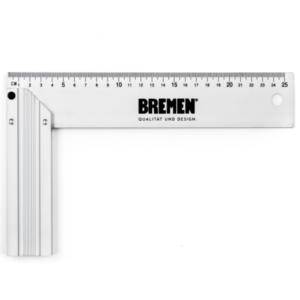 Escuadra Carpintero Aluminio BREMEN 250MM 6823
