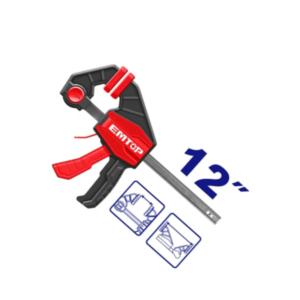 Prensa Rápida Sargento Para Carpintero Tipo F 12″ EMTOP ECLPQ60201